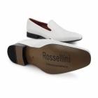 Rossellini CARLO Mens Slip On Loafers White Diamond