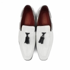 Rossellini JERSEY Mens Patent Loafer Shoes White