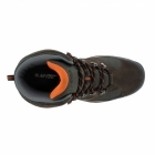 Hi-Tec STORM WP Mens Hiking Boots Chocolate/Orange