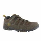 Hi-Tec QUADRA CLASSIC Mens Walking Shoes Brown/Taupe/Gold