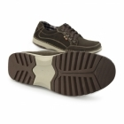 Chatham RYDER Mens Nubuck Casual Trainers Coffee