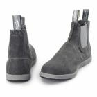 Blundstone 1420 Mens Canvas Chelsea Boots Black Wash