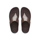 FitFlop™ LULU SHIMMERSUEDE™ Ladies Suede Toe Post Sandals Bronze