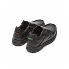 Kickers REASAN SLIP Boys Leather Slip-On Shoes Black