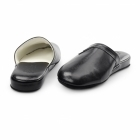 Chaleur PIERO Mens Mule Comfort Slippers Black