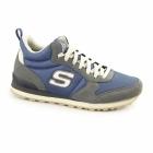 Skechers OG 85 BEULLER Mens Sports Fitness Trainers Grey/Blue