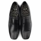 Kickers FEROCK SLIP 2 Mens Leather Slip On Shoes Black