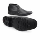 Kickers FEROCK BOOT 2 Mens Leather Chukka Boots Black