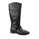 Hush Puppies EMILIA Ladies Leather Brogue Tall Boots Black