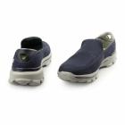 Skechers GO WALK 3 Mens Slip On Walking Trainers Navy/Grey