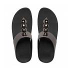 FitFlop™ ROLA™ Ladies Toe Post Jewel Sandals Pewter