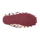 Cotswold CLANFIELD Ladies Spotted Mary Jane Slippers Beige