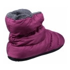 Cotswold CAMPING Ladies Faux Fur Camping Boot Slippers Purple