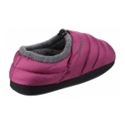 Cotswold CAMPING Ladies Faux Fur Camping Slippers Purple