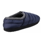 Cotswold CAMPING Mens Faux Fur Camping Slippers Navy