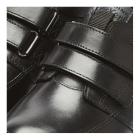 Kickers TROIKO STRAP Mens Leather Shoes Black