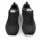 Skechers FLEX ADVANTAGE 2.0-GOLDEN POINT Mens Sport Trainers Black/White