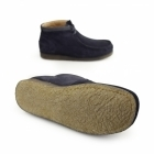 Hush Puppies DAVENPORT HIGH Mens Suede Boots Navy