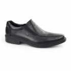Rieker 14354-00 TEX Mens Leather Loafer Shoes Black