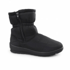 Dr Keller LIGHTING Ladies Warm Lined Winter Snow Ankle Boots Black