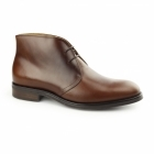 John White AUGUSTA Mens Leather Chukka Boots Tan