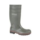 Dunlop ACIFORT Mens S5 Safety Wellington Boots Dark Green