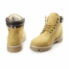 Jack & Jones STOKE Mens Nubuck Warm Work Styled Boots Honey