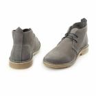 Jack & Jones GOBI Mens Suede Lace-Up Desert Boots Castlerock