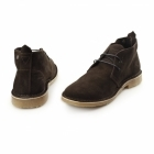 Jack & Jones GOBI Mens Suede Lace-Up Desert Boots Java