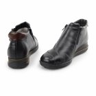 Rieker 44273-01 TEX Ladies Leather Warm Lined Boots Black