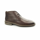 Rieker 37612-26 Mens Leather Wide Warm Chukka Boots Brown