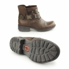 Earth Spirit KENTUCKY Ladies Side Zip Ankle Boots Almond