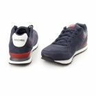 Skechers RETRO OG 82 Mens Suede Sports Trainers Navy/Red