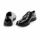 Kickers KYMBO LACE Mens Leather Derby Shoes Black