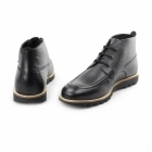 Kickers KYMBO MOCC Mens Leather Moccasin Boot Black