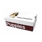 Hush Puppies BARNET HANSTON Mens Nubuck Dual Fit Derby Shoes Taupe