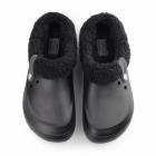 Crocs BLITZEN II Unisex Warm Lined Mule Black