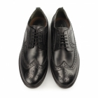 Silver Street London FENCHURCH Mens Leather Brogues Black