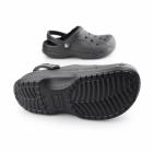 Crocs CLASSIC WINTER Unisex Warm Lined Croslite Clogs Black