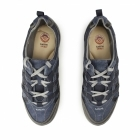 Earth Spirit RICO Ladies Lace Up Suede Walking Trainers Navy