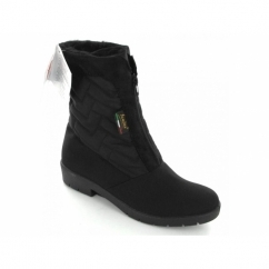 NEVES Ladies Warm Lined Snow Boots Black