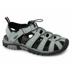 SASHA Ladies Toggle & Velcro Summer Trail Sandals Grey