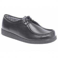 JACE Boys Lace-Up School Shoes Black