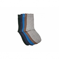 NECO Mens Cotton Socks 5 Pack