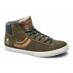 RENO LOW ORIGINAL Mens Suede Hi-Tops Slate Black