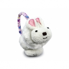FASHION ANIMAL Ladies/Kids Winter Earmuffs White Bunny