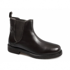 MURPHY Mens Leather Chelsea Boots Brown