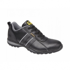 M090A Unisex SB SRA Safety Trainers Black