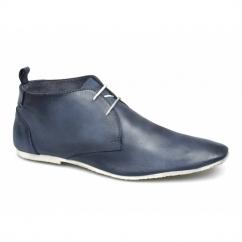 SAMUEL Mens 2 Eye Desert Boots Pastel Blue