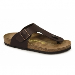 RAMSES Mens Toe Post Sandals Brown